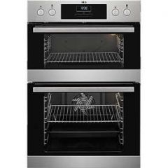 Aeg DCB331010M Aeg Dcb331010m Built In Double Oven - Stainless Steel - A/A Rated