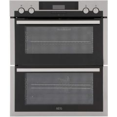 Aeg DUE431110M Aeg Built Under Double Oven - Stainless Steel - A/A Rated