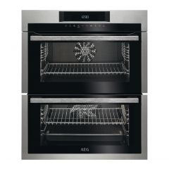 Aeg DUE731110M_SS Aeg Due731110m Built Under Double Oven - Stainless Steel - A/A Rated