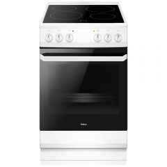Amica AFC1530WH 50Cm Electric Cooker With Ceramic Hob A Rated
