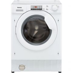 Baumatic BWMI1472D3/1 Baumatic Bwmi1472d3/1 Integrated 7Kg Washing Machine With 1400 Rpm - White - A