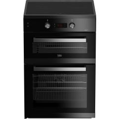 Beko BDI6C55K 60Cm Electric Cooker With Induction Hob - Black