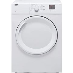 Beko DTGV8000W Beko Dtgv8000w 8Kg Vented Tumble Dryer - White - C Rated