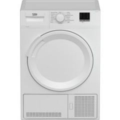 Beko DTLCE80051W 8Kg Condenser Tumble Dryer - White - B Rated