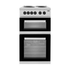 Beko KD533AS Freestanding 50Cm Electric Cooker In Silver