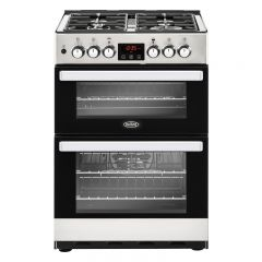 Belling COOK60DFSS 444410822 Belling Cookcentre 60Df Dual Fuel Cooker - Stainless Steel - A/A Rated
