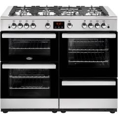 Belling COOK110GSS 444444100 Belling Cookcentre110g 110Cm Gas Range Cooker - Stainless Steel - A/A R
