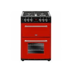 Belling 444444718 Belling Farmhouse60g 60Cm Gas Cooker With Full Width Electric Grill - Hot Jalapeno