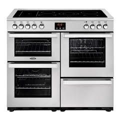 Belling Cook100ess 444444084 Proffessional 100Cm Electric Range Cooker With Ceramic