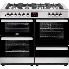 Belling COOK110DFTSS 444444094 1100Dft Cookcentre Range Duel Fuel In Stainless