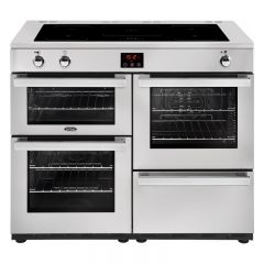 Belling COOK110EIPROSTA 444444102 Belling Cookcentre 110Cm Induction Range Cooker In Professional St
