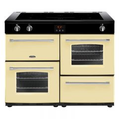 Belling FARM110EICRM 444444156 Belling Farmhouse 110Cm Electric Induction Range Cooker In Cream