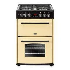 Belling FARM60DFCR Belling Farmhouse60df 60Cm Dual Fuel Cooker - Cream - A/A Rated