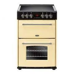 Belling FARM60ECR Belling Farmhouse60e 60Cm Electric Cooker With Ceramic Hob - Cream - A/A Rated