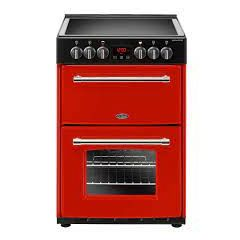 Belling FARM60EH Belling Farmhouse60e 60Cm Electric Cooker With Ceramic Hob - Cream - A/A Rated