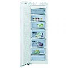 Bosch GIN81AEF0G Bosch Serie 6 Gin81aef0g Integrated Frost Free Upright Freezer With Fixed Door Fixi