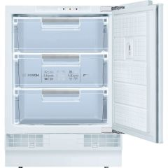 Bosch GUD15AFF0G Serie 6 Integrated Under Counter Freezer With Fixed Door Fixing Kit