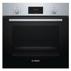 Bosch HHF113BR0B Bosch Serie 2 Built In Electric Single Oven - Stainless Steel - A Rated