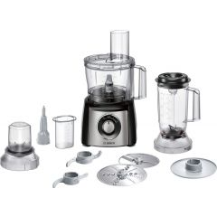 Bosch MCM3501MGB Bosch Compact Mcm3501mgb 2.3 Litre Food Processor With 11 Accessories - Stainless S