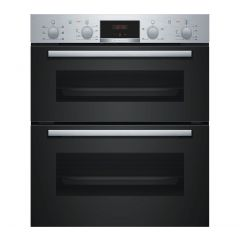 Bosch NBS113BR0B Bosch Serie 2 Nbs113br0b Built Under Electric Double Oven - Stainless Steel - A/B R