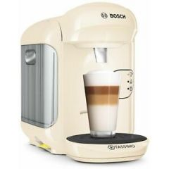 Bosch TAS1407GB Tassimo By Bosch Vivy 2 Tas1407gb Pod Coffee Machine - Cream