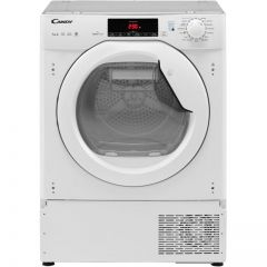 Candy CBTDH7A1TE Candy Integrated 7Kg Heat Pump Tumble Dryer - White - A+ Rated