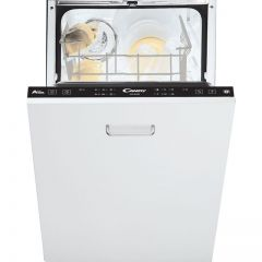 Candy CDI2L952/E Fully Integrated Slimline Dishwasher - Black Control Panel