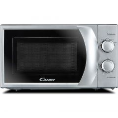 Candy 20 Litre Solo Mechanical Microwave- Silver