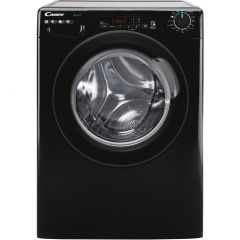 Candy CS149TBBE 9Kg Washing Machine With 1400 Rpm - Black - D Rated