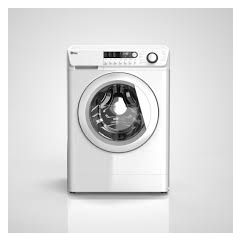 Ebac AWM74D2H-WH Ebac 7Kg 1400 Spin Hot And Cold Fill E-Care+ Washing Machine In White