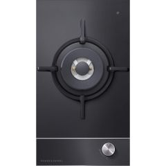 Fisher&Paykel CG301DLPGB1 Gas on Glass Cooktop 30cm 1 Burner (LPG)