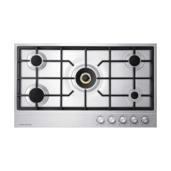 Fisher&Paykel CG905DNGX1 Gas on Steel Hob 90cm 5 Burner