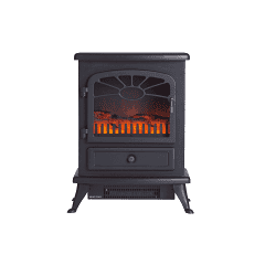Focal Point Fires Plc ES2000 Es2000 Black Electric Stove  - Fc00090
