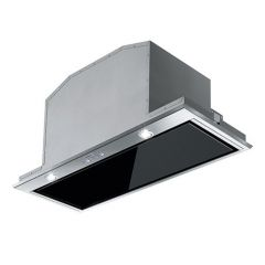Franke FBI537XS/BK Canopy Built In Cookerhood In Stainless With Black Facia