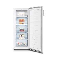 Fridgemaster MTZ55153 Tall Upright Freezer 144Cm In White