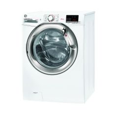 Hoover H3DS4965DACE H-Wash 300, 9+6Kg 1400Rpm Washer Dryer, White+ Chrome Door, Wifi