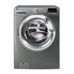Hoover H3DS4965DACGE H-Wash 300, 9+6Kg 1400Rpm Washer Dryer, Graphite+ Chrome Door, Wifi