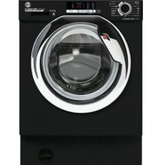 Hoover HBDS485D2ACBE Integrated Washer Dryer - Black