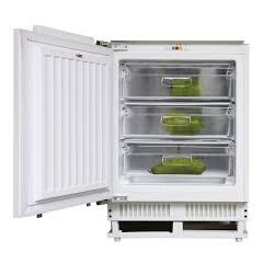 Hoover HBFUP130NK Built Under Freezer Static With Clear Baskets