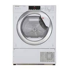 Hoover HBTDWH7A1TCE Integrated Wifi Connected 7Kg Heat Pump Tumble Dryer