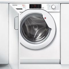 Hoover HBWD8514DC Hoover Integrated 8Kg / 5Kg Washer Dryer With 1400 Rpm With White Door