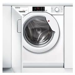 Hoover HBWM814D Hoover H-Wash 300 Hbwm814d Integrated 8Kg Washing Machine With 1400 Rpm - White - A+