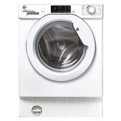 Hoover HBWS49D2ACE Hoover 9Kg 1400 Spin Integrated Washing Machine In White/Chrome