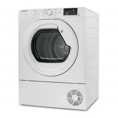 Hoover HLC8DG 8Kg Condenser Clear Door With Container At Bottom White