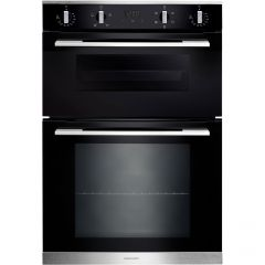 Hoover HO7DC3UB308BI Hoover H-Oven 300 Ho7dc3ub308bi Built Under Double Oven - Black / Stainless Ste
