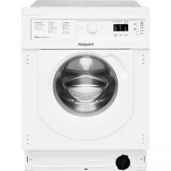 Hotpoint BIWDHG75148UKN Integrated 7Kg / 5Kg Washer Dryer With 1400 Rpm B Rated
