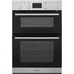 Hotpoint DD2540IX Hotpoint Double Built In Oven In Stainless Steel A Rated Ovens