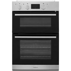 Hotpoint DD2544CIX Hotpoint Class 2 Dd2544cix Built In Electric Double Oven - Stainless Steel - A/A