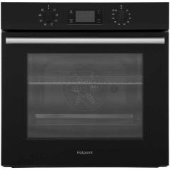 Hotpoint SA2540HBL Hotpoint Built In Multifunction Single Oven In Black