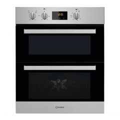 Indesit IDU6340IX Double Built Under Oven In Stainless